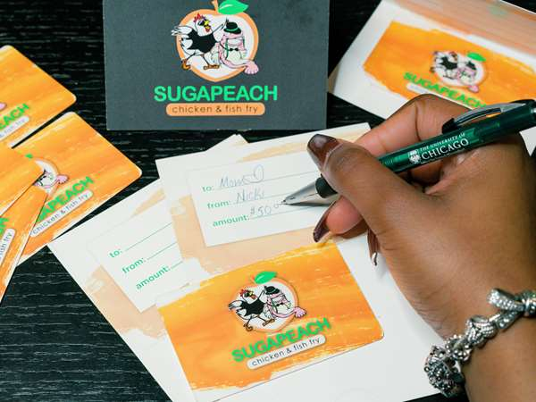 Gift cards from Sugapeach are the perfect gift